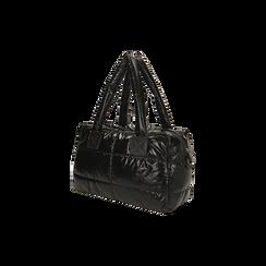 Sac noir duvet en tissu, Primadonna, 165122146TSNEROUNI, 002 preview