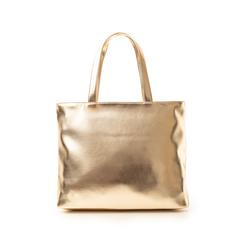 Maxi bag oro in laminato , Primadonna, 133764104LMOROGUNI, 003 preview
