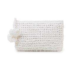 Pochette mare bianca in paglia intrecciata, Primadonna, 134504239PGBIANUNI, 001 preview