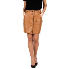 Minigonna cuoio, Abbigliamento, 156500826EPCUOI3XL, 001a