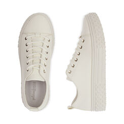 Sneakers bianche, Scarpe, 172822110EPBIAN035, 003 preview