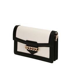 Bolso pequeño negro / blanco, Primadonna, 172300784EPNEBIUNI, 002a