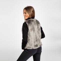 Smanicato eco-fur grigio, Abbigliamento, 12B400302FUGRIGL, 003
