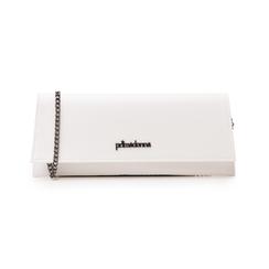 Pochette piatta bianca in eco-pelle, Borse, 145122509EPBIANUNI, 001 preview