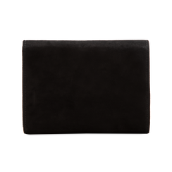 Pochette nera in microfibra, Borse, 123306941MFNEROUNI, 002 preview