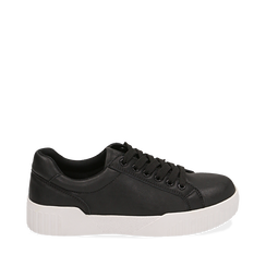 Sneakers en eco-piel color negro, 150620171EPNERO035, 001a