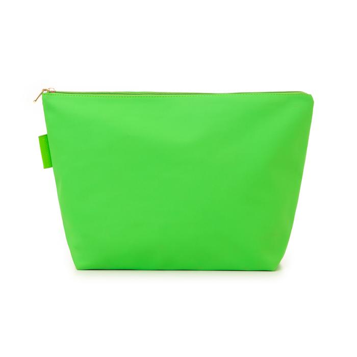 Pochette mare fluo verde in tessuto , Saldi Estivi, 133322281TSVERDUNI