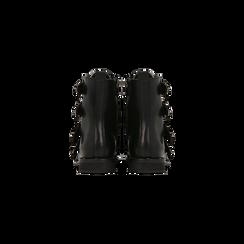 Biker neri con quattro fibbie dark, Primadonna, 129379916EPNERO, 003 preview