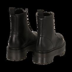 Botas militares en color negro, Primadonna, 162800001EPNERO035, 004 preview