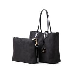 Maxi-bag nera in microfibra, Borse, 145786295MFNEROUNI, 004 preview