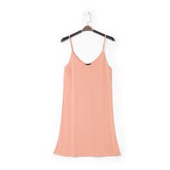 Mini-dress nude con scollo a V, Primadonna, 13F753052TSNUDEL, 001 preview