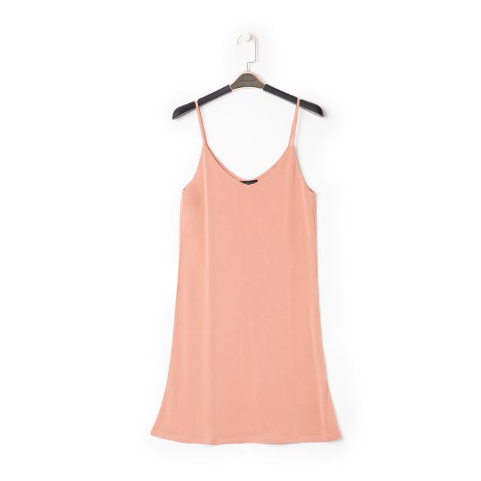 Mini-dress nude con scollo a V, Primadonna, 13F753052TSNUDEL