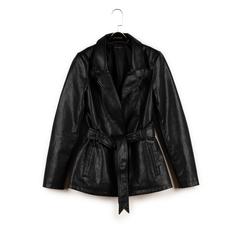 Chaqueta en eco-piel color negro , Primadonna, 156501906EPNEROM, 003 preview