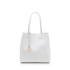 Maxi-bag bianca in eco-pelle , Borse, 135786734EPBIANUNI, 001a