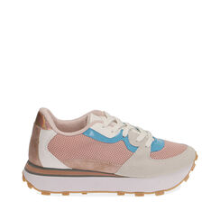 Sneakers rosa in tessuto tecnico , Primadonna, 177519601TSROSA035, 001a