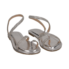 WOMEN SHOES FLAT LAMINATED ARGE, Zapatos, 154928862LMARGE036, 002 preview