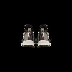 Sneakers verdi con tacco basso, Scarpe, 121617843LYVERD, 003 preview