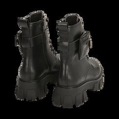 Botas militares en color negro, Primadonna, 160611112EPNERO035, 004 preview