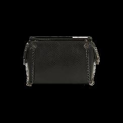Petit sac noir imprimé vipère, Primadonna, 16D938308EVNEROUNI, 003 preview