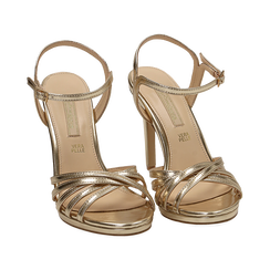 WOMEN SHOES SANDAL LAMINATED OROG, PROMOTIONS, 152174020LMOROG036, 002 preview