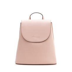 Zainetto rosa in eco-pelle minimal, Borse, 133783137EPROSAUNI, 001a