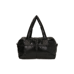 Sac noir duvet en tissu, Primadonna, 165122146TSNEROUNI, 003 preview