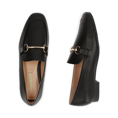 Mocassins noirs, Chaussures , 172760915EPNERO037, 003 preview