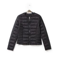 Piumino nero in nylon, Abbigliamento, 146511662NYNERO3XL, 003 preview