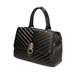 Bolsa de mano matelassé negra, Primadonna, 161012886EPNEROUNI, 002a