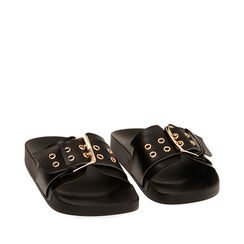 Chaussons noirs, 174700598EPNERO036, 002a