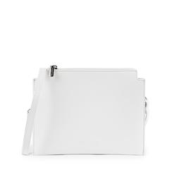 Pochette blanche en simili-cuir, Sacs, 155122634EPBIANUNI, 001a