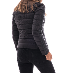 Piumino nero in nylon, Abbigliamento, 146511662NYNERO3XL, 002 preview