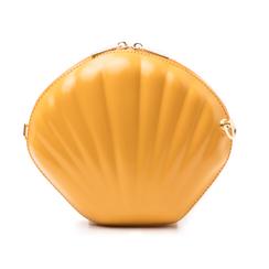 Borsetta conchiglia gialla in eco-pelle, Borse, 14C814006EPGIALUNI, 003 preview