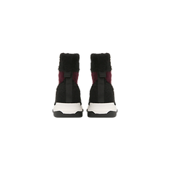 Sneakers nero-rosse sock boots con suola in gomma bianca, Scarpe, 124109763TSNERS, 003 preview