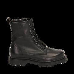 Amphibiens noirs en cuir, Primadonna, 167729408PENERO036, 001a
