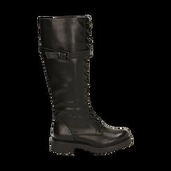 Boots à lacets noirs, Primadonna, 163003608EPNERO037, 001 preview