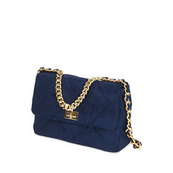 BAG BOLSO MICROFIBRA BLUE, Primadonna, 185123704MFBLUEUNI, 002a
