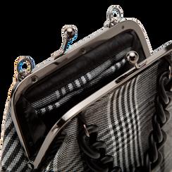 Pochette vintage in tweed, Saldi Borse, 122701280TSBINEUNI, 004 preview