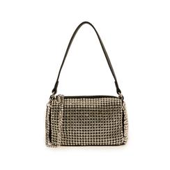 Mini bag nera con pietre, Primadonna, 15F520054ETNEROUNI, 001 preview