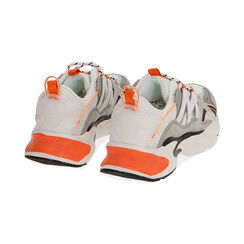 Sneakers bianco/arancio, Scarpe, 17E900045EPBIAC035, 004 preview