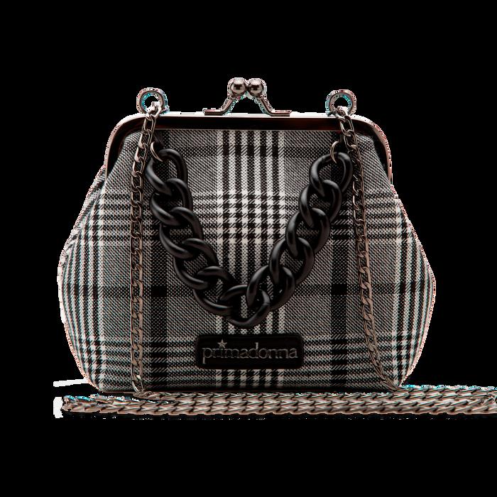 Pochette vintage in tweed, Primadonna, 122701280TSBINEUNI
