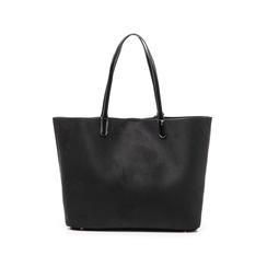 Maxi-bag nera in microfibra, Borse, 145786295MFNEROUNI, 003 preview