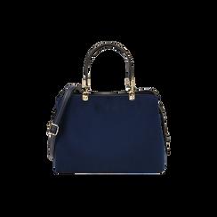 BAG BOLSO MICROFIBRA BLUE,  Bolsos , 16D971608MFBLUEUNI, 001 preview