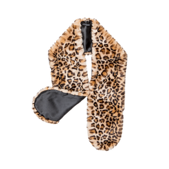 Coprispalla in eco-pelliccia leopard, Saldi, 12B414001FULEOP, 001 preview