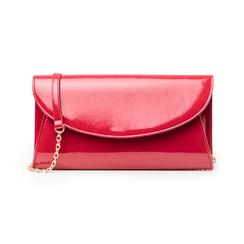 Pochette rossa in vernice, Borse, 145122502VEROSSUNI, 001 preview
