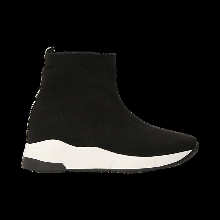 Sneakers trainer nere con suola super light, Scarpe, 129367111MFNERO