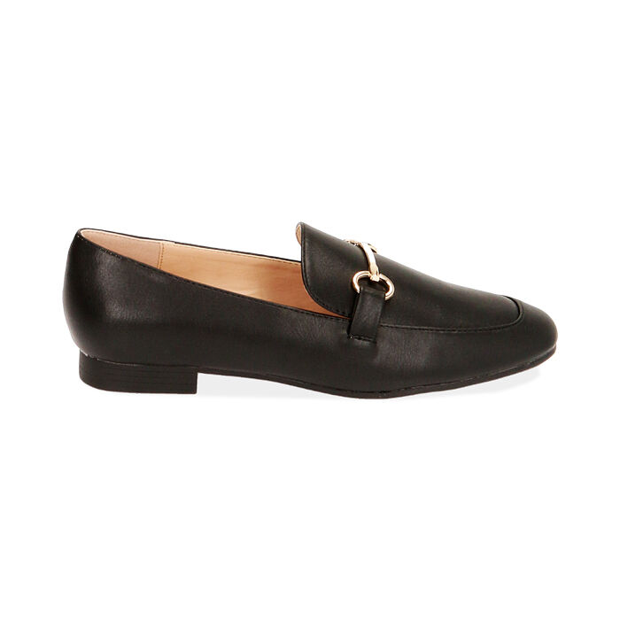Mocassins noirs, Chaussures, 172760915EPNERO036