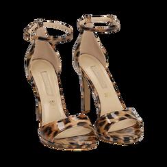 WOMEN SHOES SANDAL EP-PATENT LEOP, Chaussures, 152133410VELEOP035, 002a