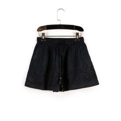 Shorts neri in tessuto , Primadonna, 150503108TSNEROUNI, 003 preview