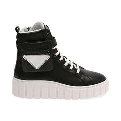 Sneakers nere in pelle, Primadonna, 17L645608PENERO035, 001 preview
